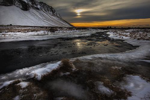 Artic Winter Sun - Iceland