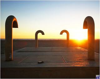 Santa Monica Beach (air vents)
