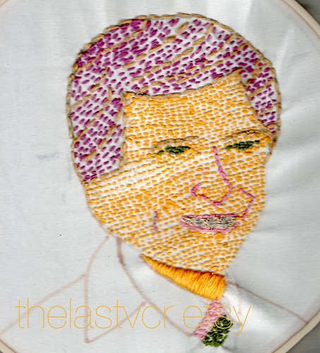 Tom Brokaw needlepoint