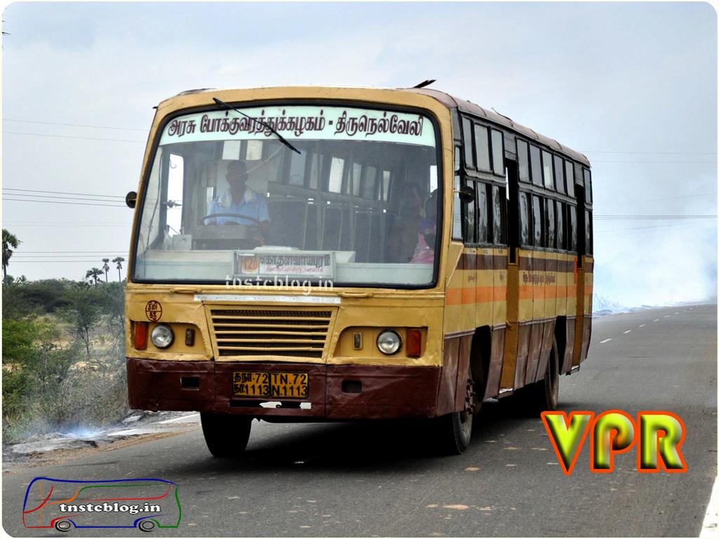 TN-72N-1113 of Kattabomman Nagar Depot Route 12D Palai Market - Kombadi Thalavaipuraam