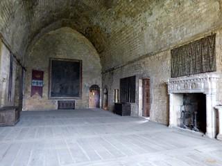 Salle des états...Château de Beynac ....