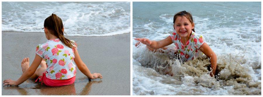 enjoying the water more