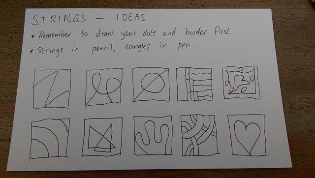 Strings - ideas