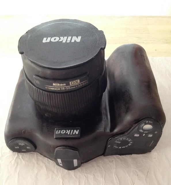 Camera Cake by Yvonne Fenty Lewis‎