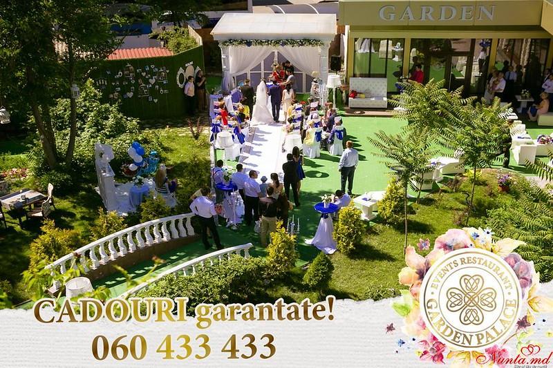 GARDEN Palace Events Restaurant – место, где рождаются счастливые семьи! > Лови шанс и получи гарантированные ПОДАРКИ от GARDEN Palace!