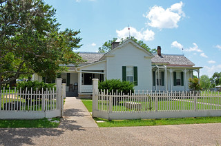 Texas, Johnson City, Lyndon B. Johnson National Historic Park, LBJ Boyhood Home