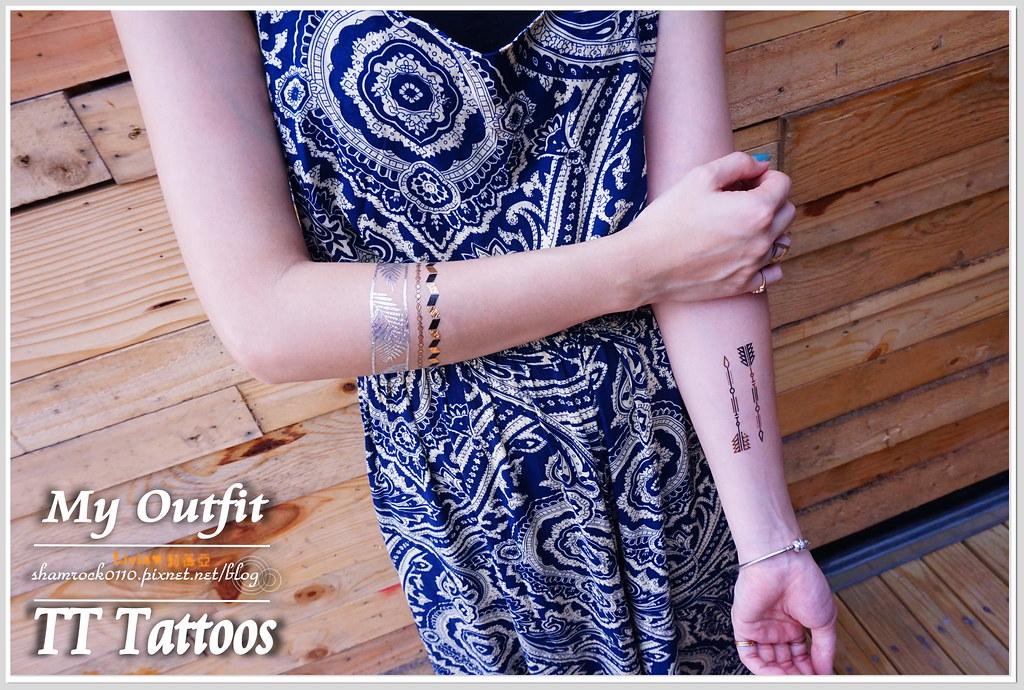 TT Tattoos金屬紋身貼 - 22