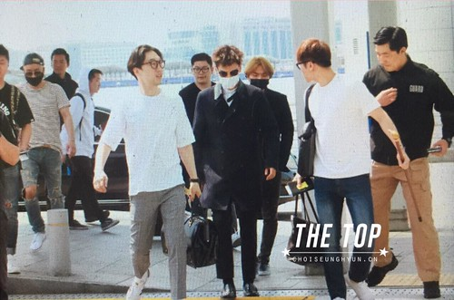 Big Bang - Incheon Airport - 29may2015 - TOP - The TOP - 01