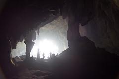 Dramatic cave