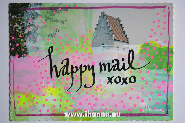 DIY Postcard: Happy Mail coming your way