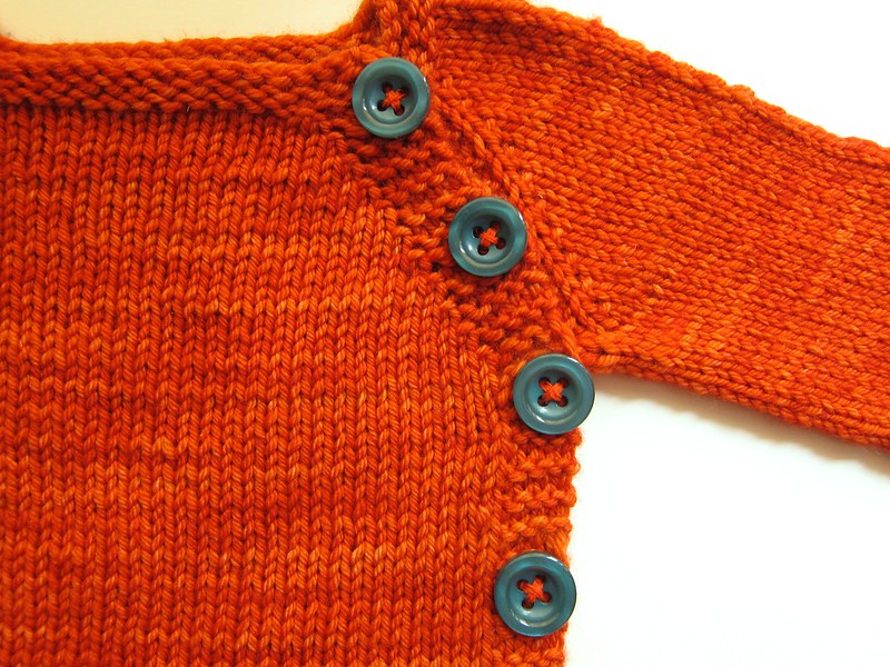 Pumpkin Beyond Puerperium Baby Cardigan