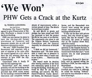 'We Won': PHW Gets a Crack at the Kurtz