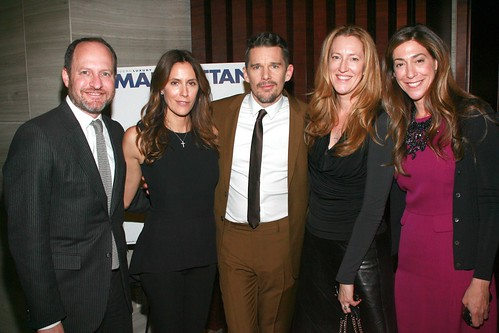 Michael Wolfe, Cristina Cuomo, Ethan Hawke, Andrea Greeven Douzet, Marcy Bloom==.Modern Luxery Manhattan Celebrates Cover with Ethan Hawke==.Park Hyatt, 153 West 57th Street, NYC.==.January 6, 2015==.©Patrick Mcmullan==.photo-Sylvain Gaboury/Pat