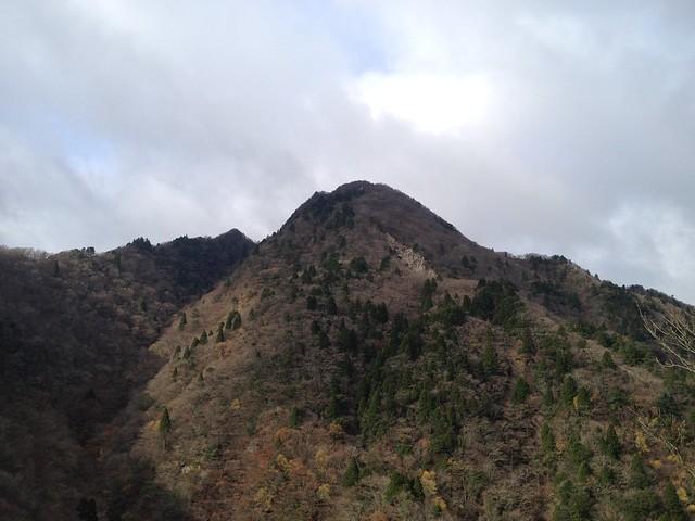 鎌ヶ岳 馬の背尾根から鎌ヶ岳