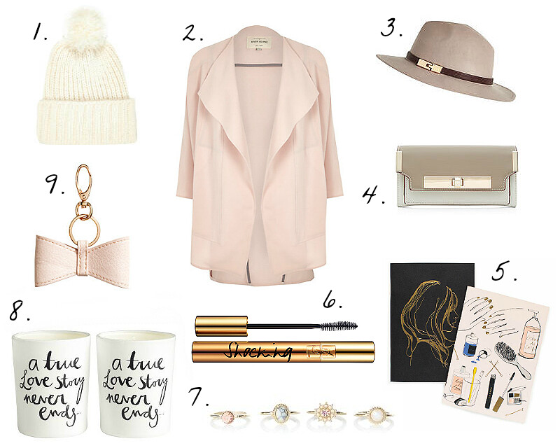 pastel wish list