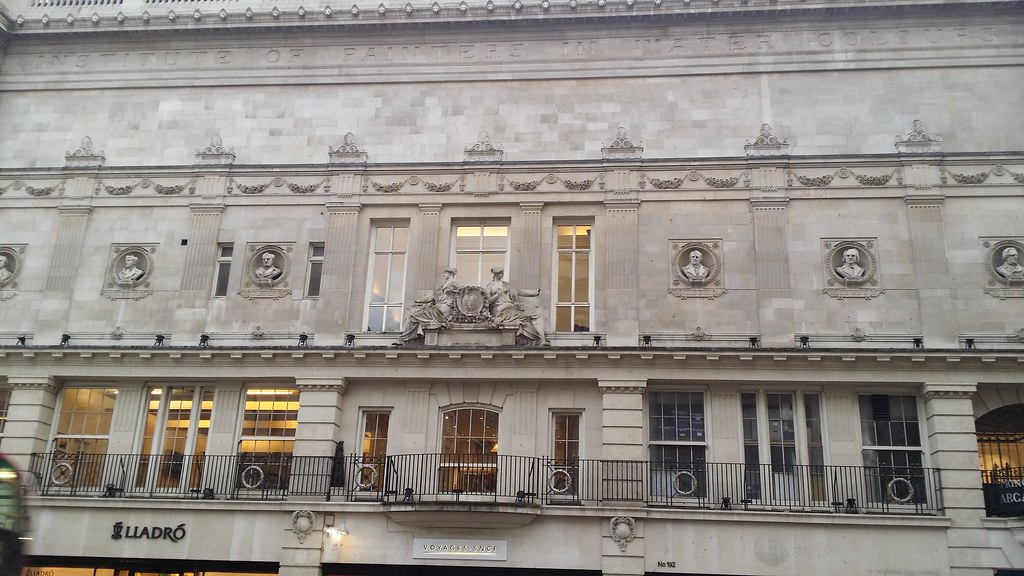 At the old Royal Institution for Painting in Watercolour #sh