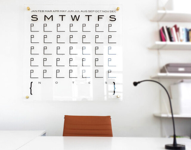 Lucite Wall Calendars 4