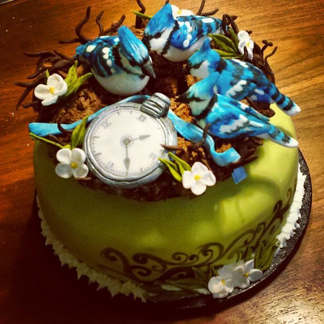 Bluejay Cake