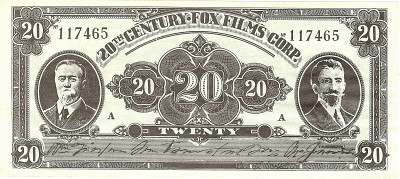 Mexican currency prop note