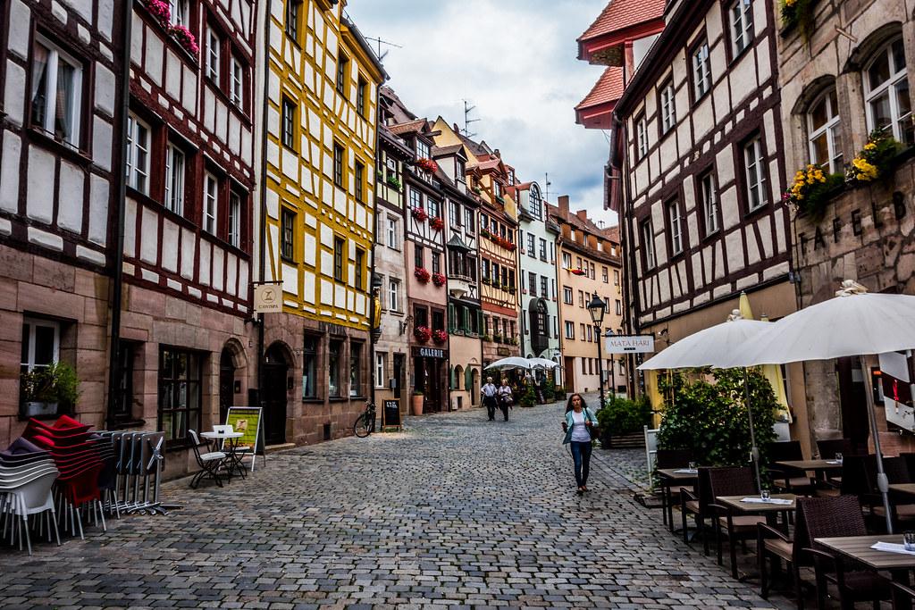 Nuremberg houses