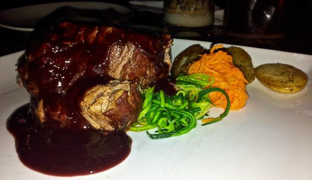 beef dish - sobremesa restaurant in antigua guatemala