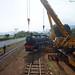 Pemindahan Lokomotif D 5106 di Ambarawa