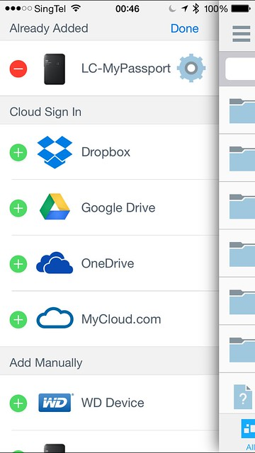 WD My Cloud App