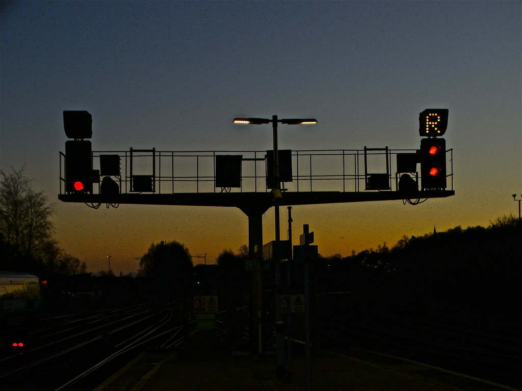 Signals at Sunset