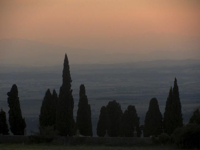 Dusk Over Languedoc