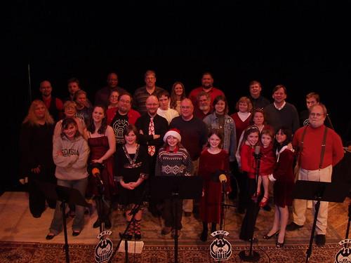 The cast of 'An Atlanta Christmas' 2007