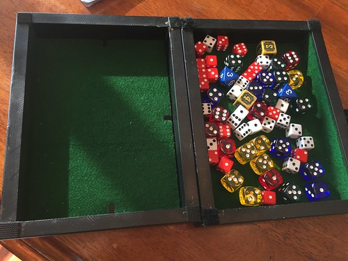 How To Make A Dice Tray Out Of A Picture Frame Some Cloth A Lot Of