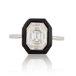 11017-Antique-Emerald-Cut-Diamond-With-Onyx-Halo-Engagement-T-View