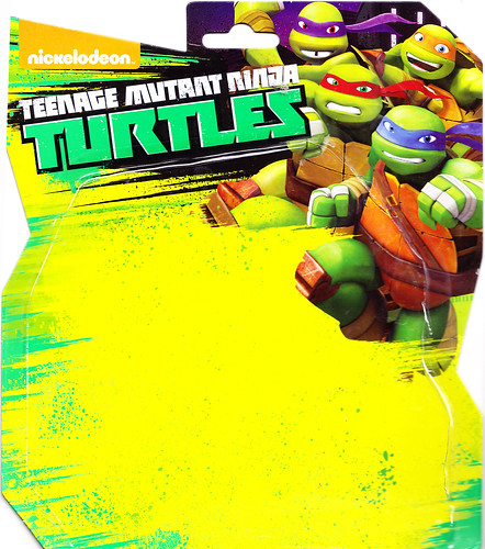 "Nickelodeon  TEENAGE MUTANT NINJA TURTLES :: Goodie vs. Baddie Twin Pack; ""MICHELANGELO vs.  ROCKSTEADY"" / ..card backer i (( 2015 ))  [[ Courtesy of Hero ]]"