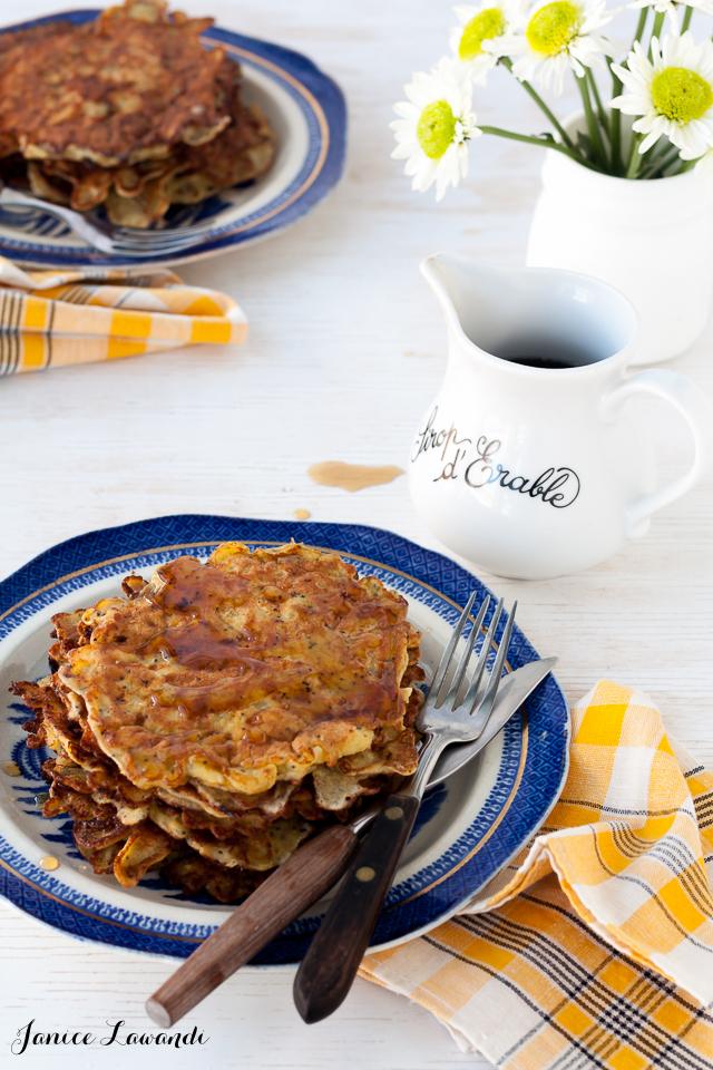 GF lemon poppy seed pancakes | Janice Lawandi @ kitchen heals soul