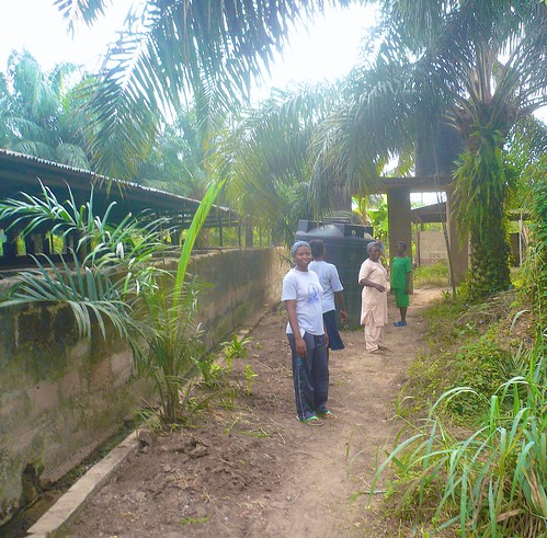 The SSL farm in remote Ewulu, Delta state, has a piggery