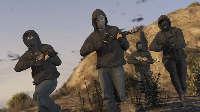 Grand Theft Auto V for PS4 - Heists
