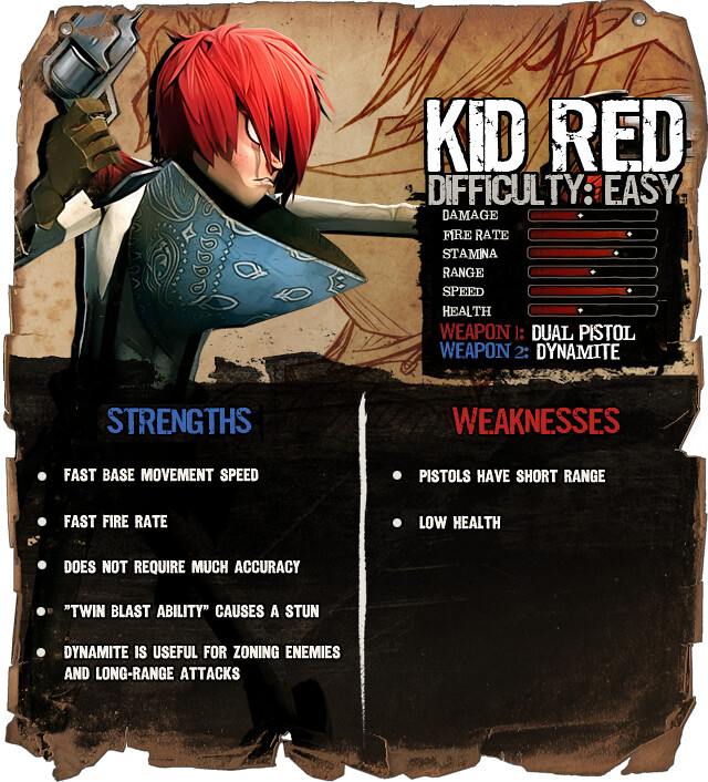 Secret Ponchos: Kid Red