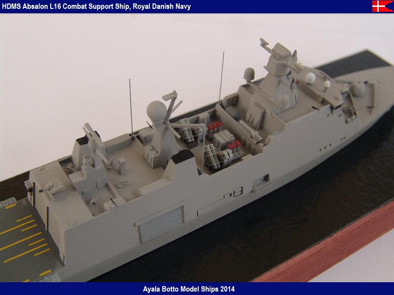 HDMS Absalon L-16  Navire de Soutien Multifonctions - NNT 1/700 16022121734_54933440b1_c
