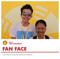 Fan Face - Shell Eco-marathon