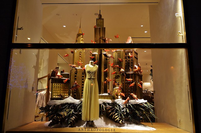Anthropologie 2014 Holiday Show Windows