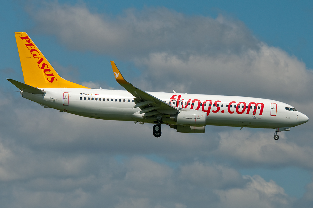 TC-AJP - B738 - Pegasus Airlines