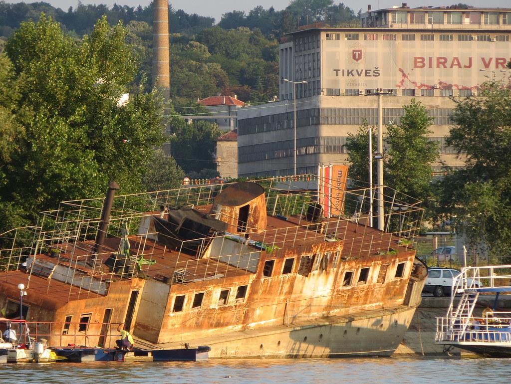 Sava-joki Belgrad