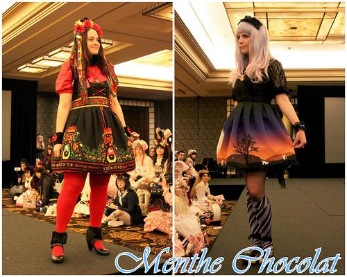 Fashion Show - Menthe Chocolat