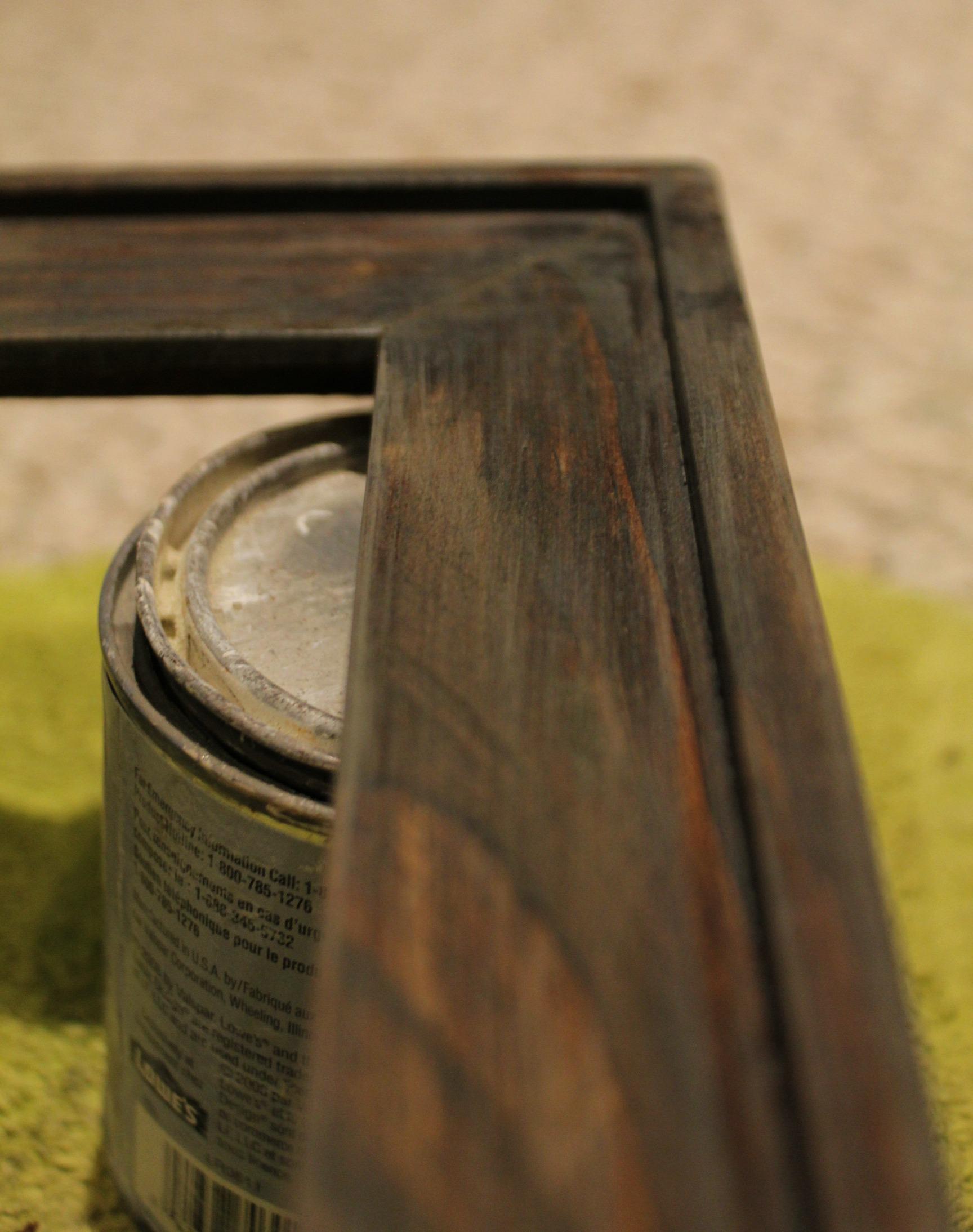 Jacobean brown Minwax stain