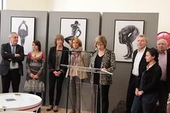 Journée de la femme : vernissage de l'exposition Males Nude à l'Atrium Culture