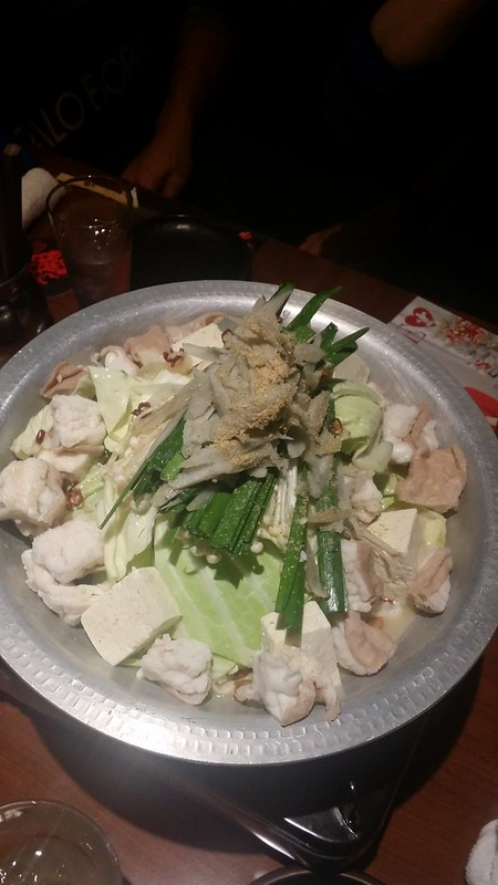 shinjuku supper - pork nabe 1