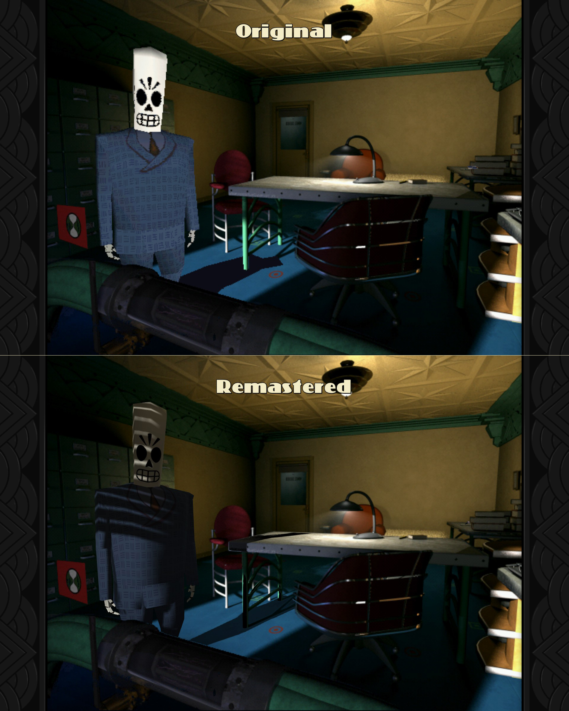 Test Grim Fandango Remastered Bild 2