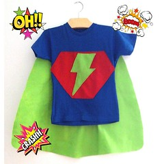E para o aniversariante uma capa especial. #festa super-herói