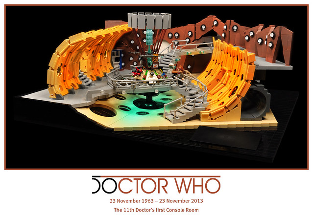50 years of Doctor Who – The 11th Doctor's TARDIS Console Room