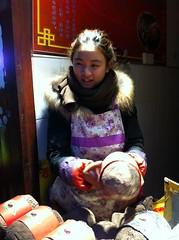 Qibao, poulet en robe de terre